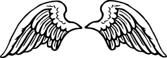 Angel Wings Clip Art Free Vector In Open-Angel wings clip art free vector in open office drawing svg svg 2-3