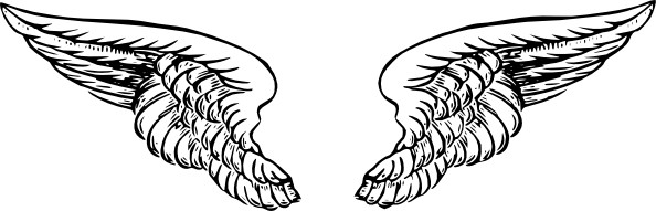 Angel Wings Clip Art Free Vector In Open-Angel wings clip art free vector in open office drawing svg svg 3-3