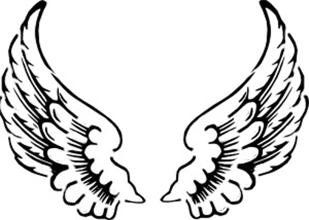 Angel Wings Clipart Panda Fre - Wing Clipart