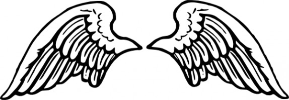 Angel Wings Free Angel Wing Clip Art Fre-Angel wings free angel wing clip art free vector for free download 2 - Clipartix-7