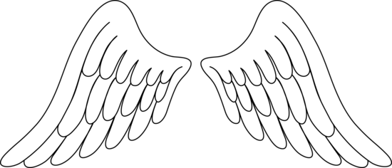Angel Wings Free Angel Wing Clip Art Fre-Angel wings free angel wing clip art free vector for free download-7