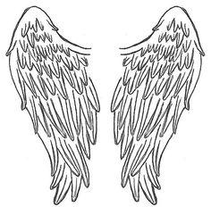 Angel wings on angel wings angel wing tattoos and wings clip art