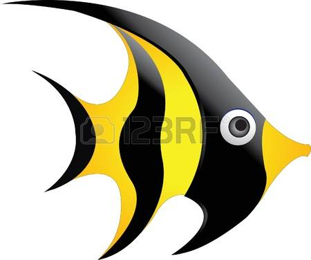 Angelfish: Moorish Idol Illustration-angelfish: moorish idol Illustration-13