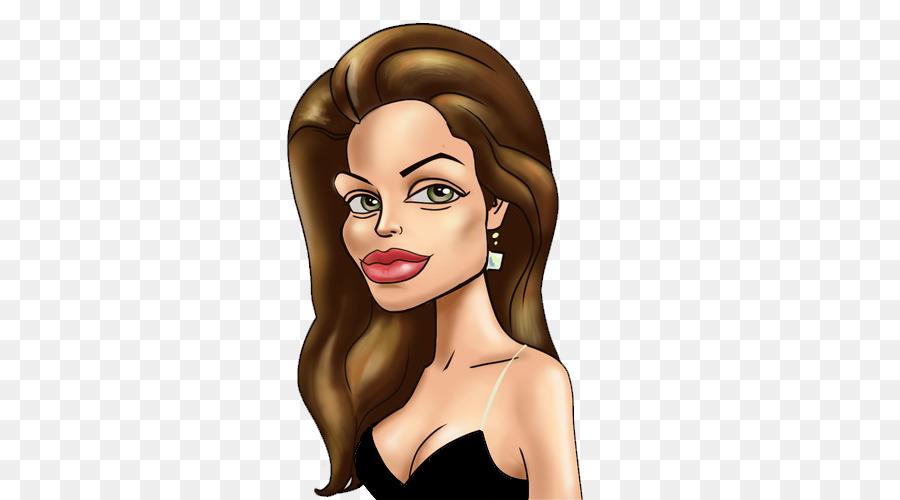 Angelina Jolie Celebrity Actor Cartoon C-Angelina Jolie Celebrity Actor Cartoon Clip art - angelina jolie-6