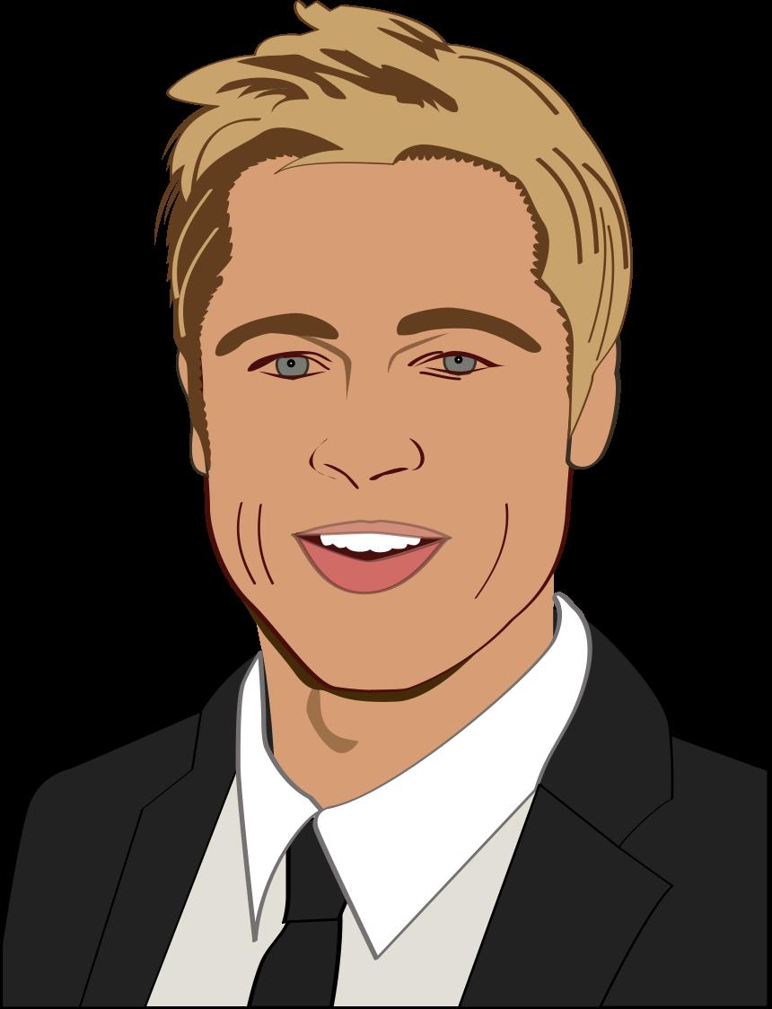 Brad Pitt PNG-Brad Pitt PNG-14