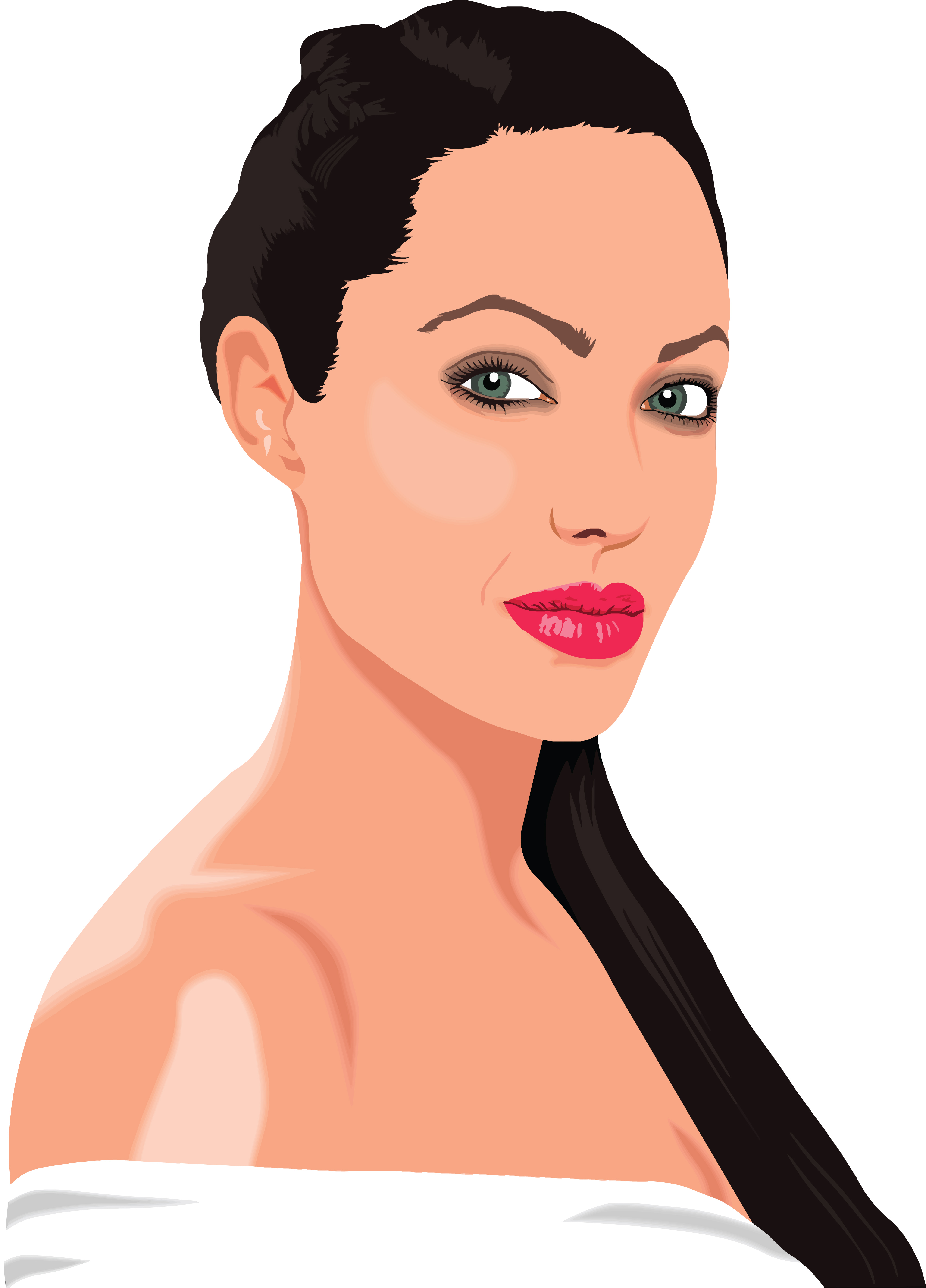 Free Clipart Of Angelina Jolie #00011225-Free Clipart Of Angelina Jolie #00011225 .-18