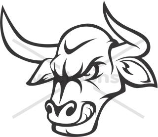 Bull Head Clip Art
