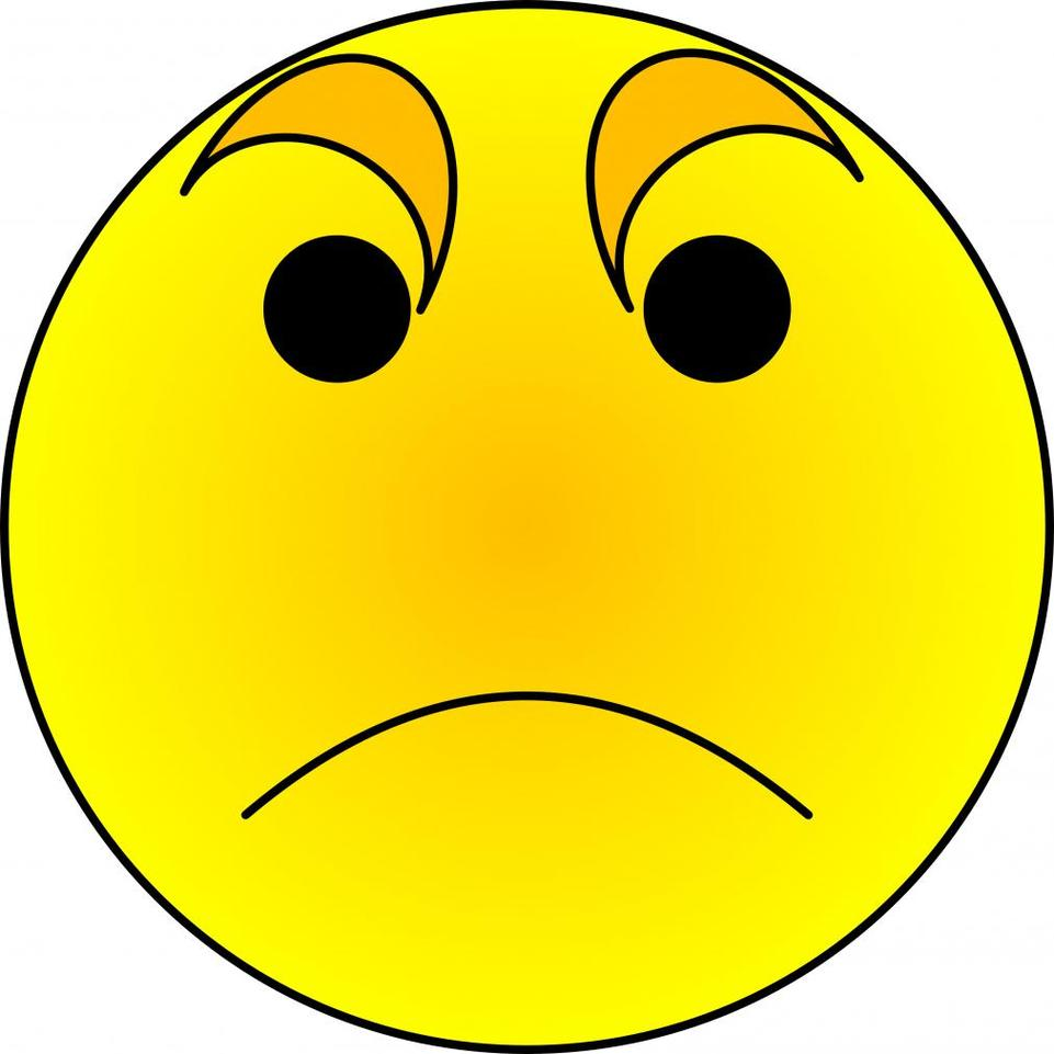 Angry Face Cartoon Clipart - Free to use Clip Art Resource ...