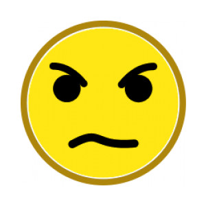 ... Angry face clip art free ...
