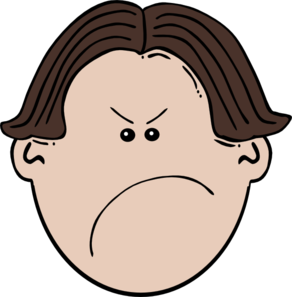 Mad face clipart clipart