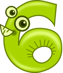 Animal Number 6 Clipart-Animal Number 6 Clipart-5