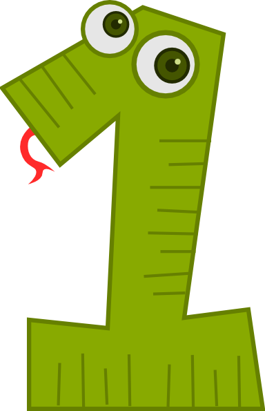 Animal Number One Clip Art At Clker Com Vector Clip Art Online