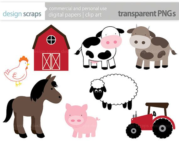 Farm Alphabet Clipart