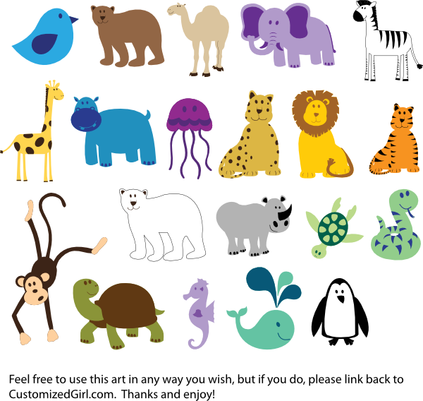 Animals Clip Art