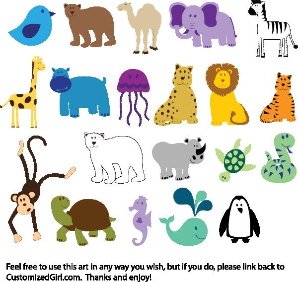 Animals Clip Art-Animals Clip Art-3