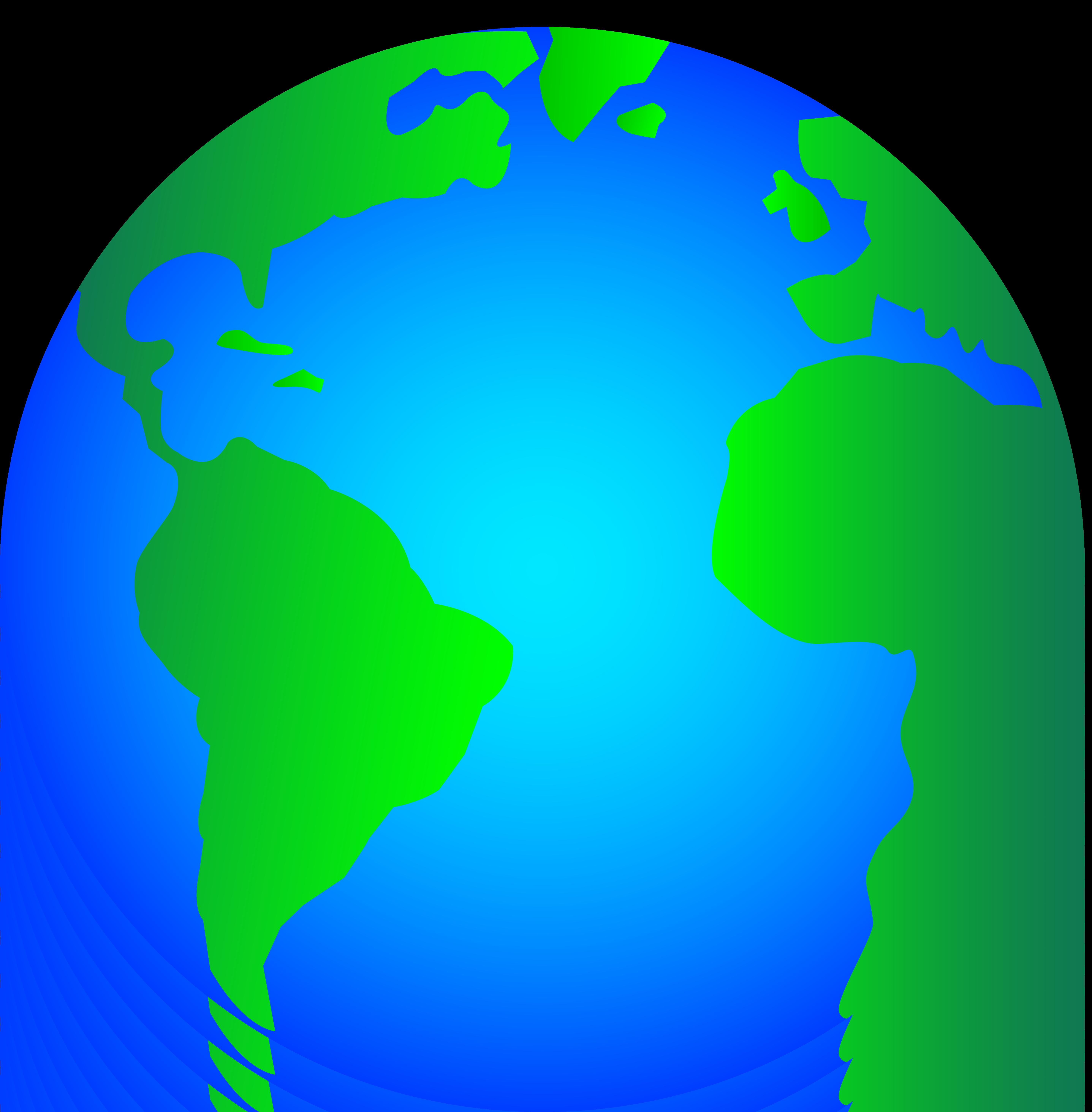 Animated globe clip art
