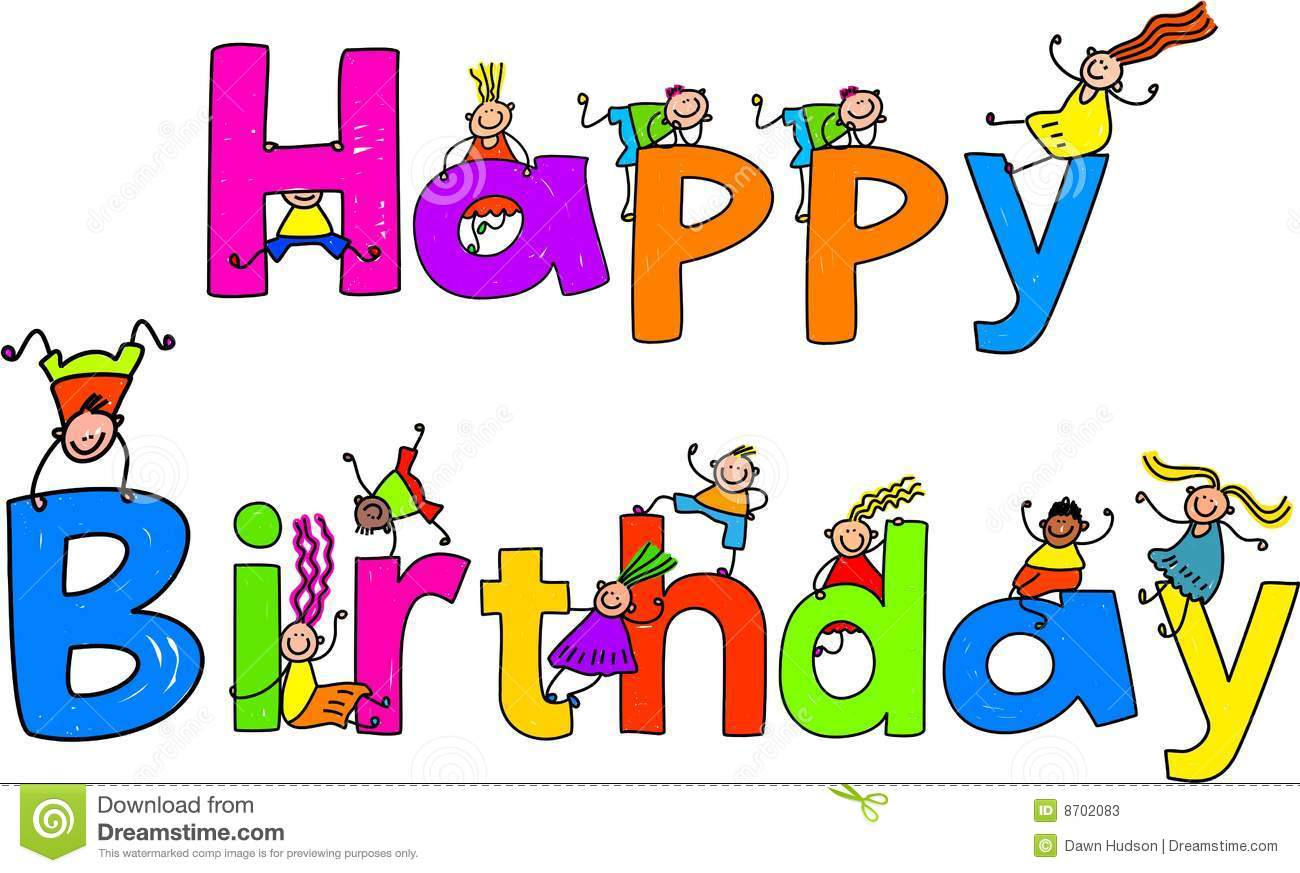Animated Happy Birthday Clip Art Free Happy Birthday Stock Photos
