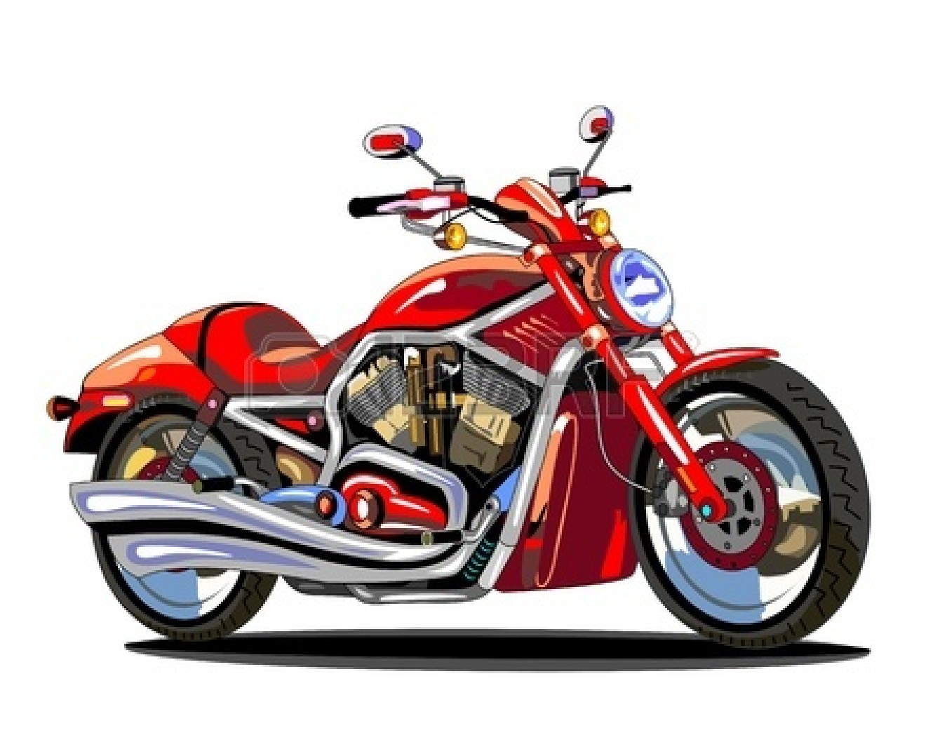 Motorcycle Clipart Images