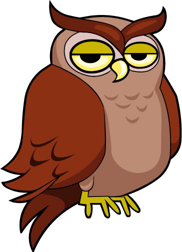 Animated Owl Clipart