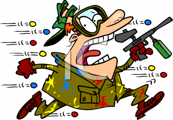 Animated Paintball Clipart