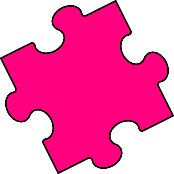 Animated puzzle pieces clip .