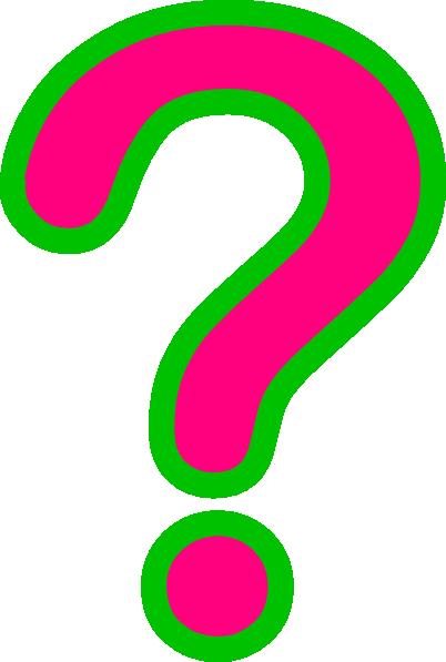 Clip Art Question Mark