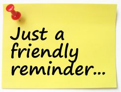 Clipart Reminder