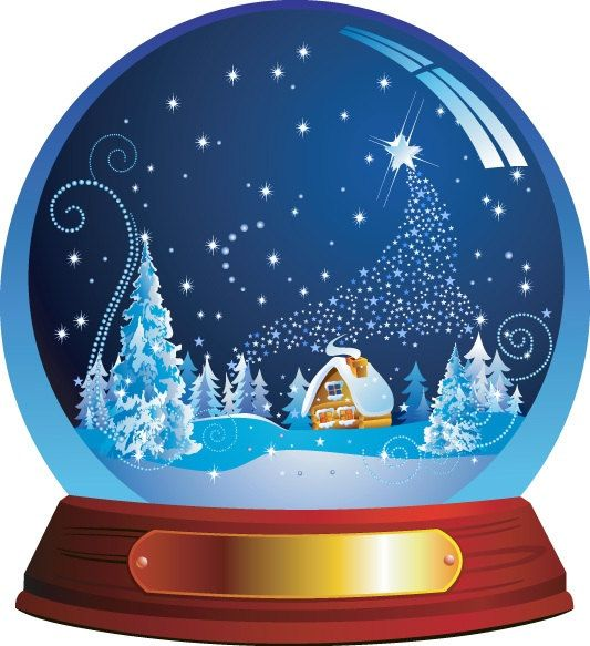 Animated Snow Globes. ️Clipart ...