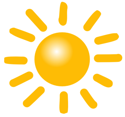 Here S The Sun Clipart We Use