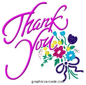 ~Animated Thank You Clip Art | for participating in the