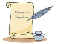 Declaration Of Independence Clipart