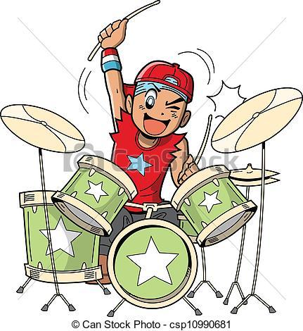 Drummer Clipart