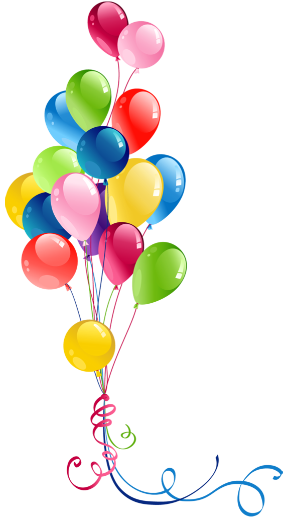 Anniversary Balloons Clipart