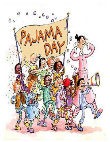 Announcements Brookfield Elementary Paja-Announcements Brookfield Elementary Pajama Day Wednesday-0