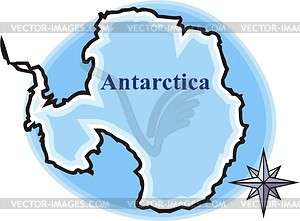 Antarctica Vector Clipart