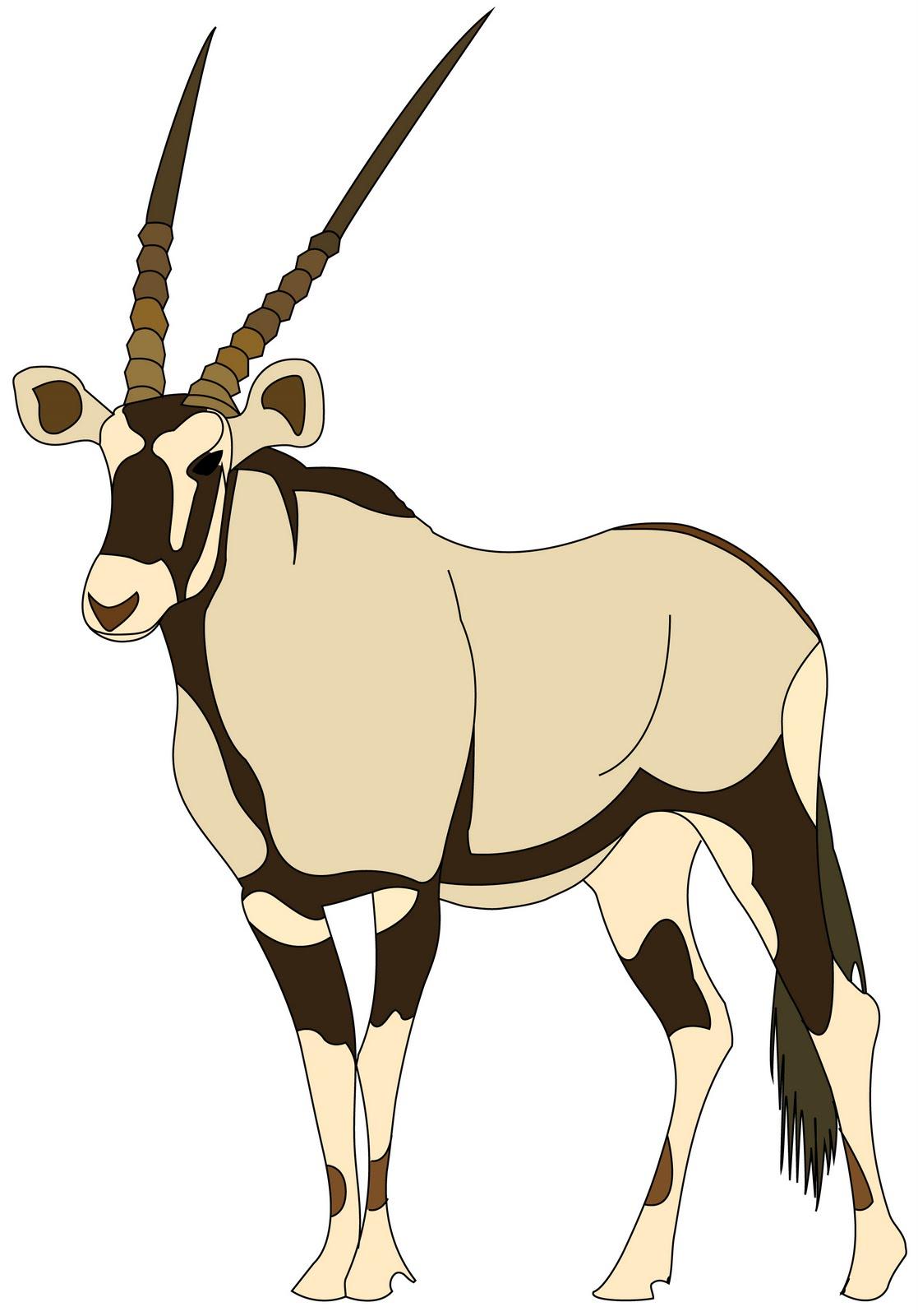 Antelope Clipart-antelope clipart-0