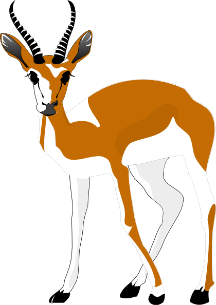 Antelope Clip Art At Clker Com Vector Cl-Antelope Clip Art At Clker Com Vector Clip Art Online Royalty Free-4