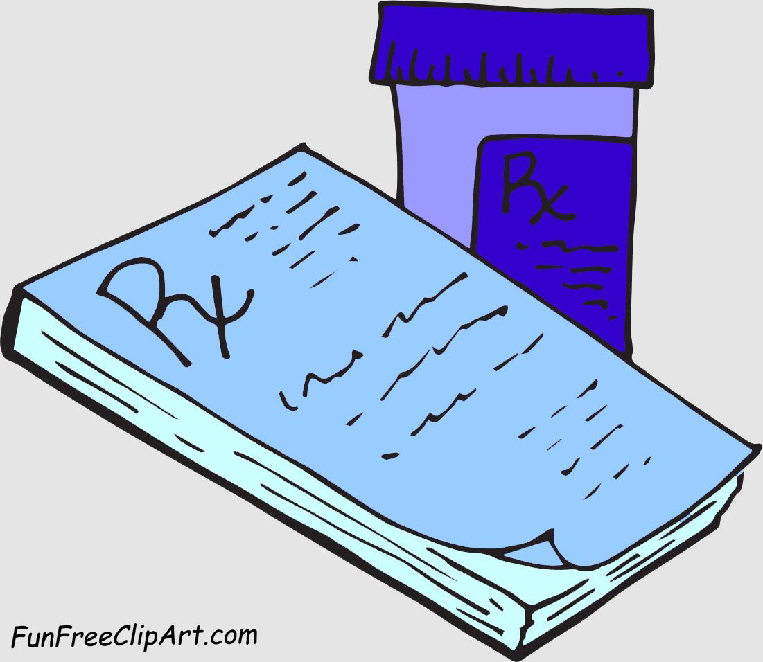 Prescription Clipart
