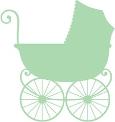 antique baby carriage--------- .