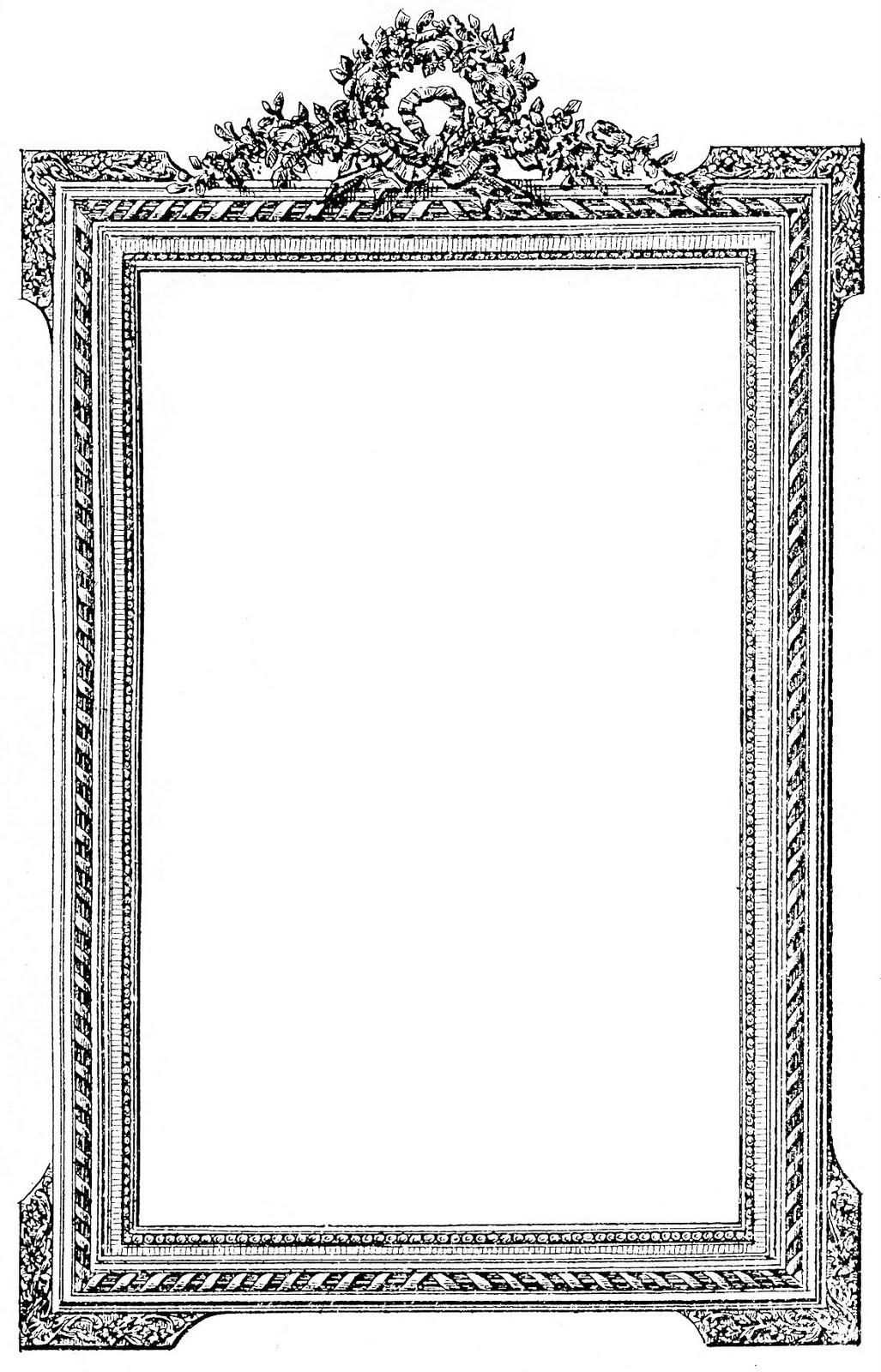 antique frame clip art graphics fairy-antique frame clip art graphics fairy-12