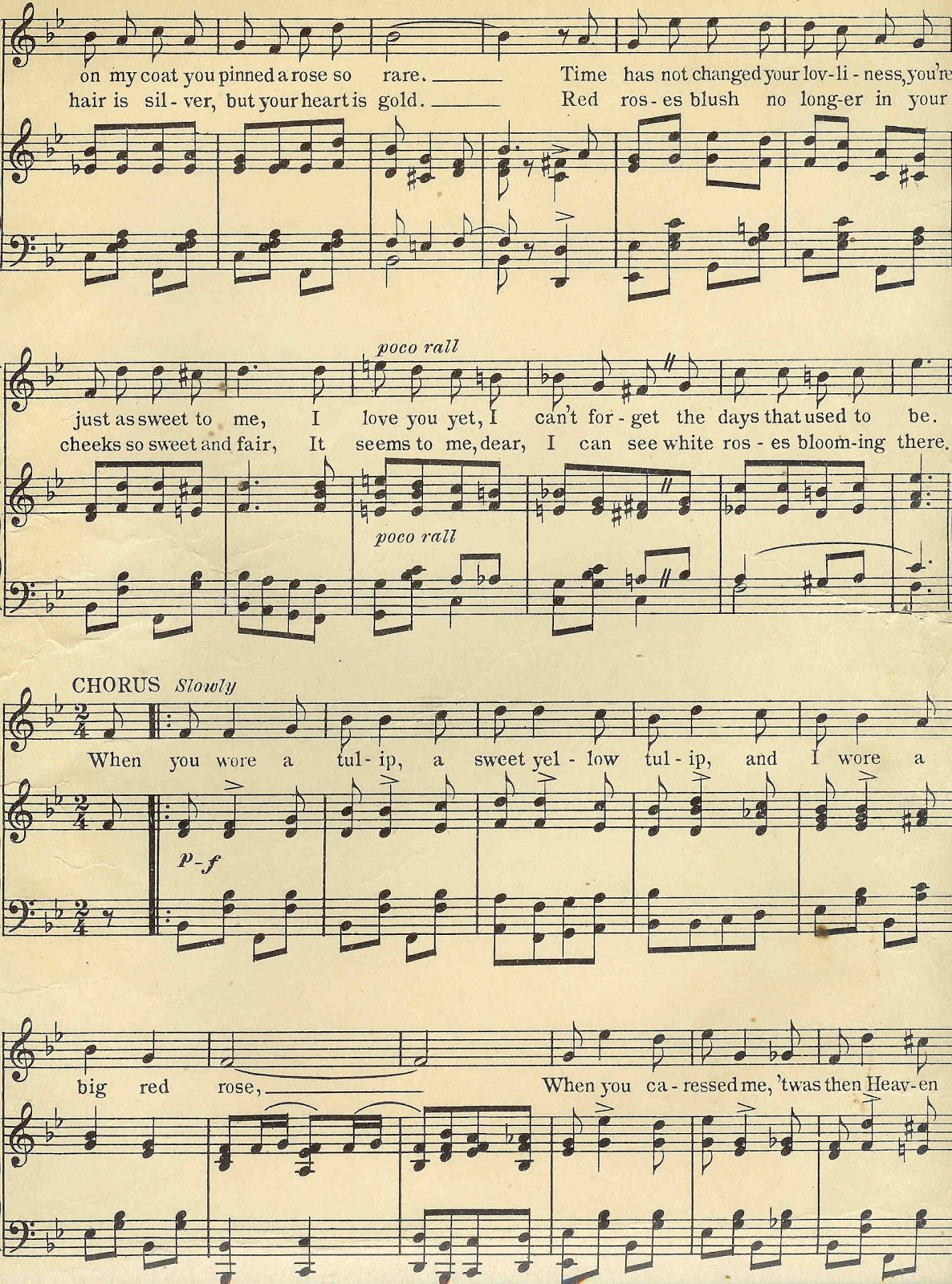 Antique Images Digital Background Of She-Antique Images Digital Background Of Sheet Music Vintage Sheet Music-2