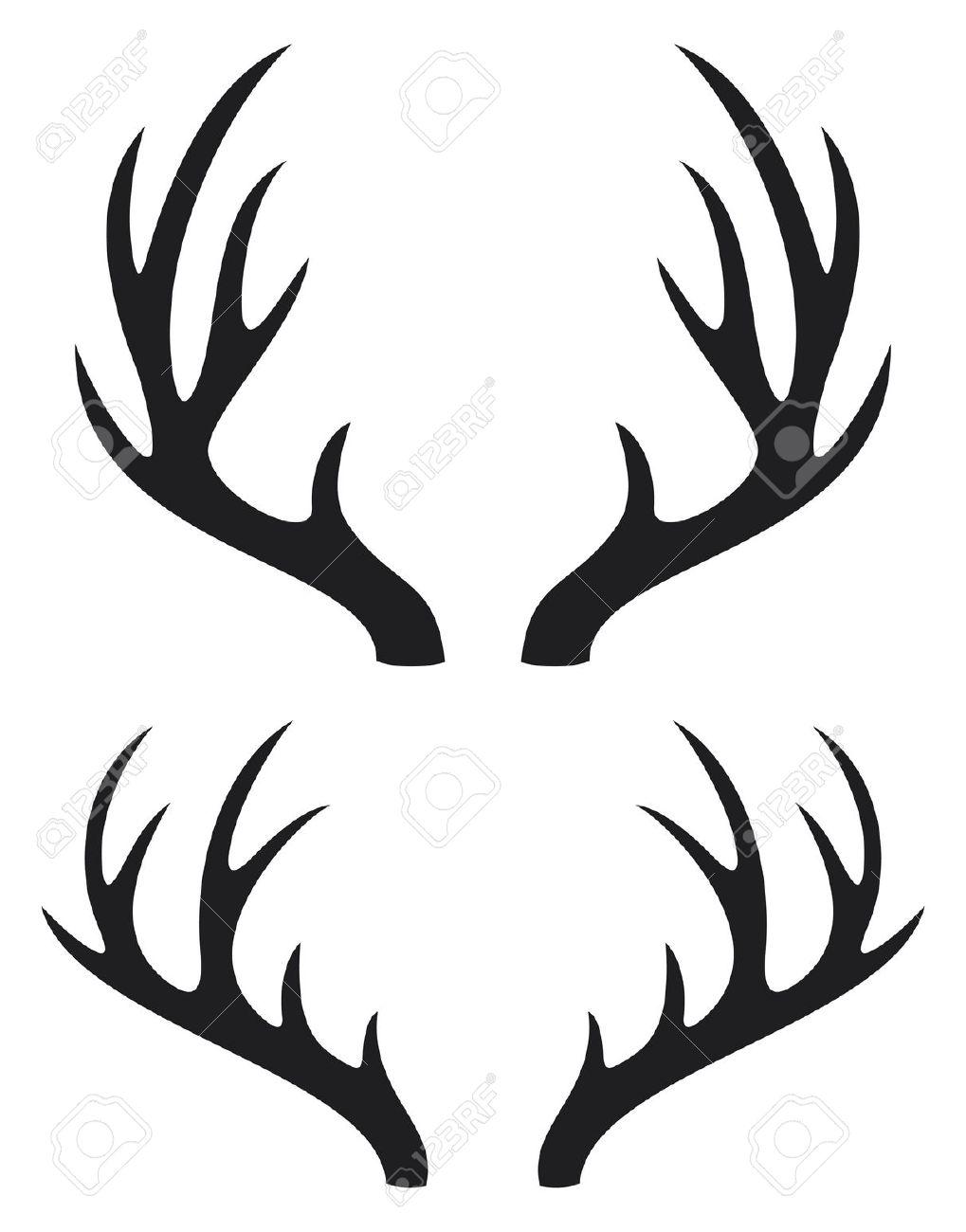Deer Antler Clip Art