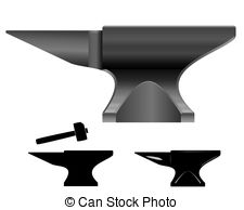 Anvil vector illustration - you can simply change color and... Anvil vector Vector Clip Artby ...
