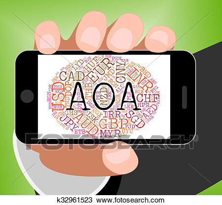 Drawing - Aoa Currency Represents Worldw-Drawing - Aoa Currency Represents Worldwide Trading And Coinage. Fotosearch  - Search Clipart, Illustration-3