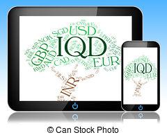 Iqd Currency Represents Worldwide Tradin-Iqd Currency Represents Worldwide Trading And Coin-18