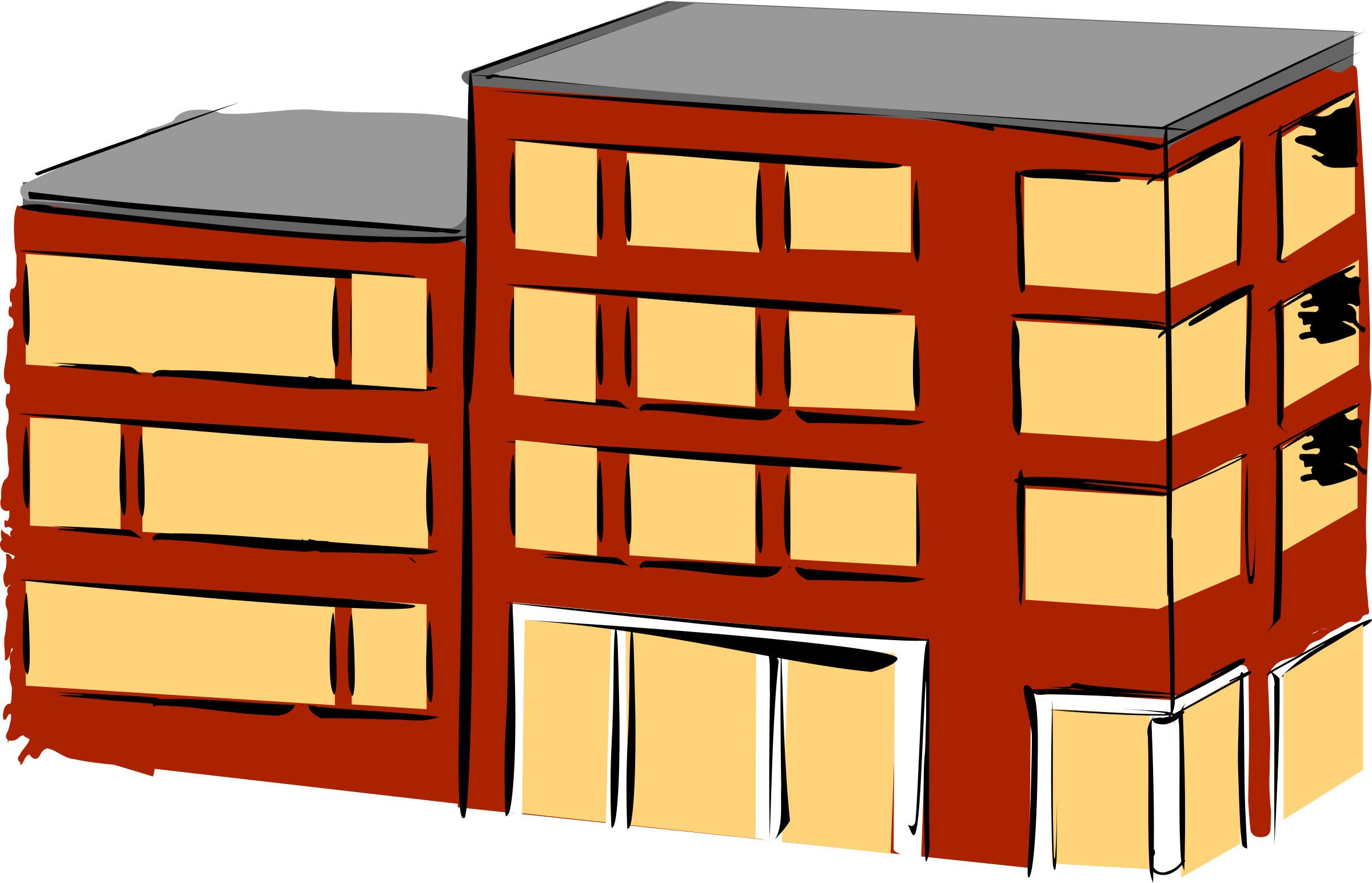 Apartment building-Apartment building-16