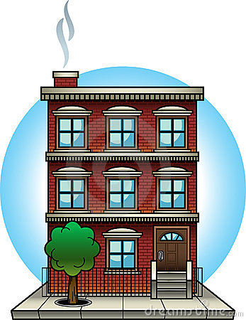 Apartment Building Clip Art ..-Apartment Building Clip Art ..-1
