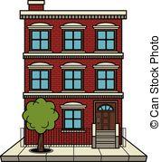 Apartment building Clip Artby sdp1190/2; Apartment building vector