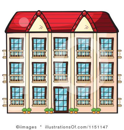 Apartment clipart: Apartment Clipart