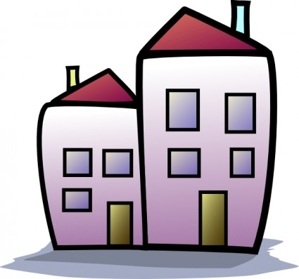 Apartment clipart: Apartments Free Downloads
